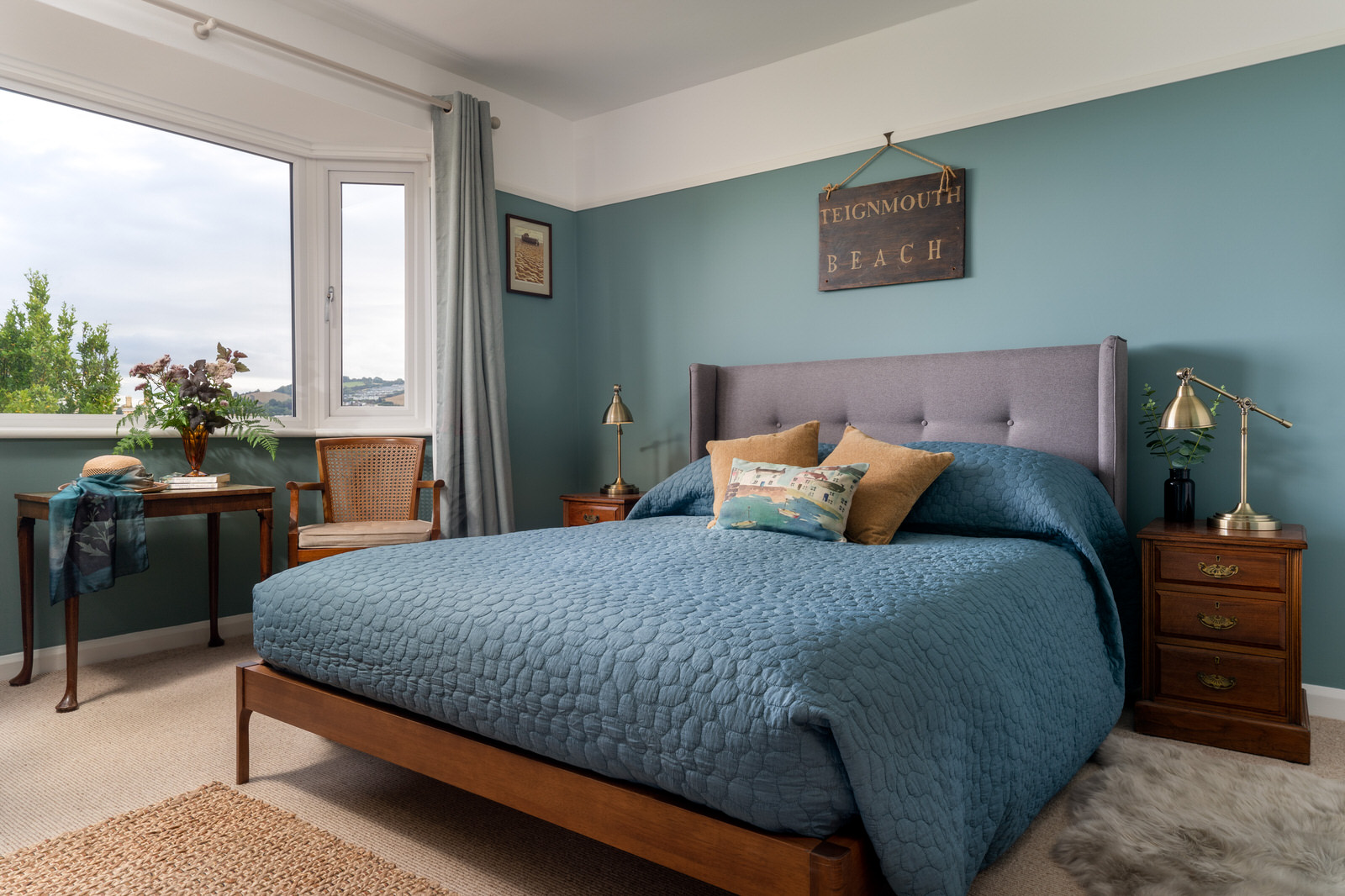 Interior holiday home photography for hortons in Teignmouth
