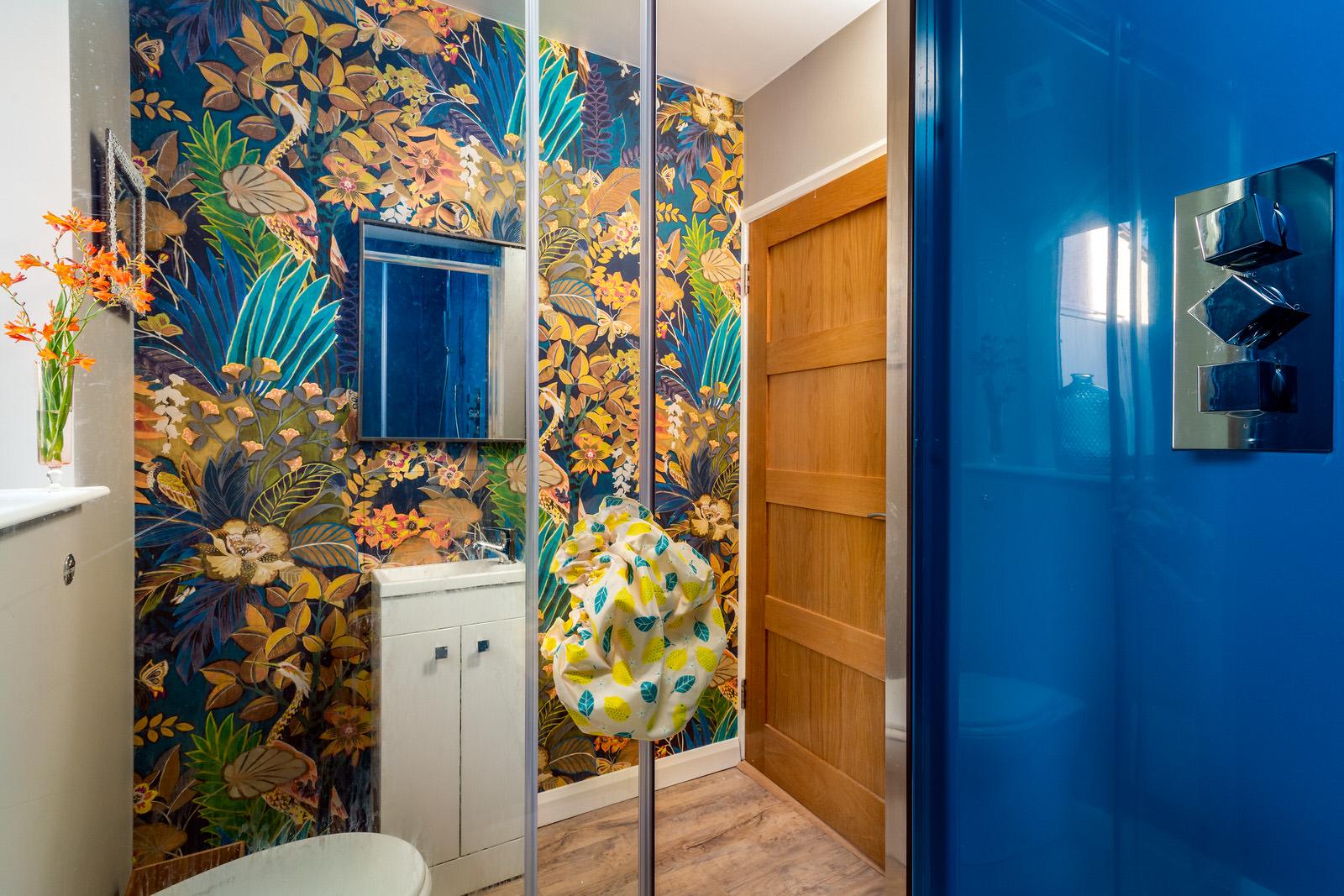 Hortons shower room after decoration