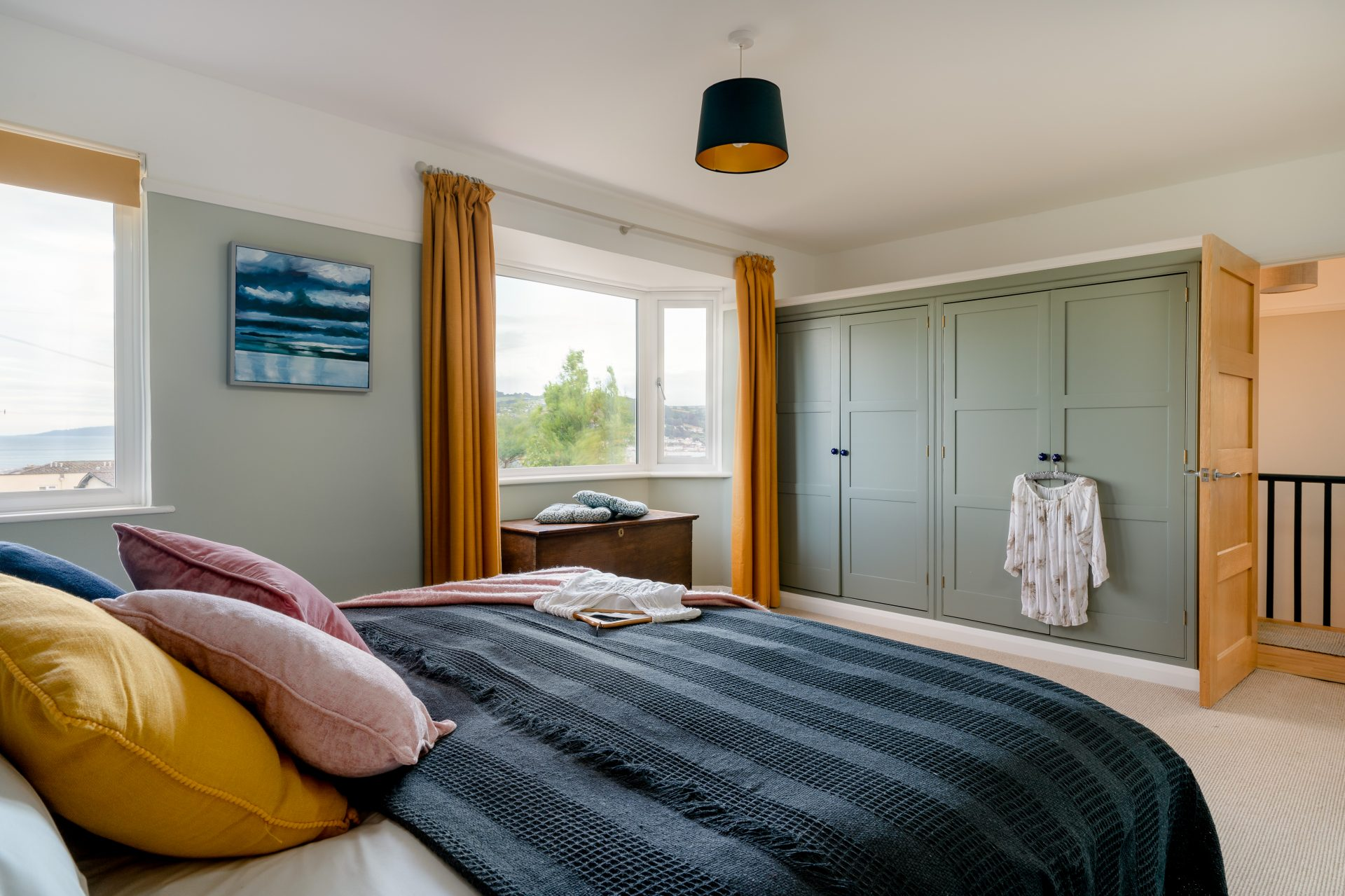 Hortons master bedroom after decoration