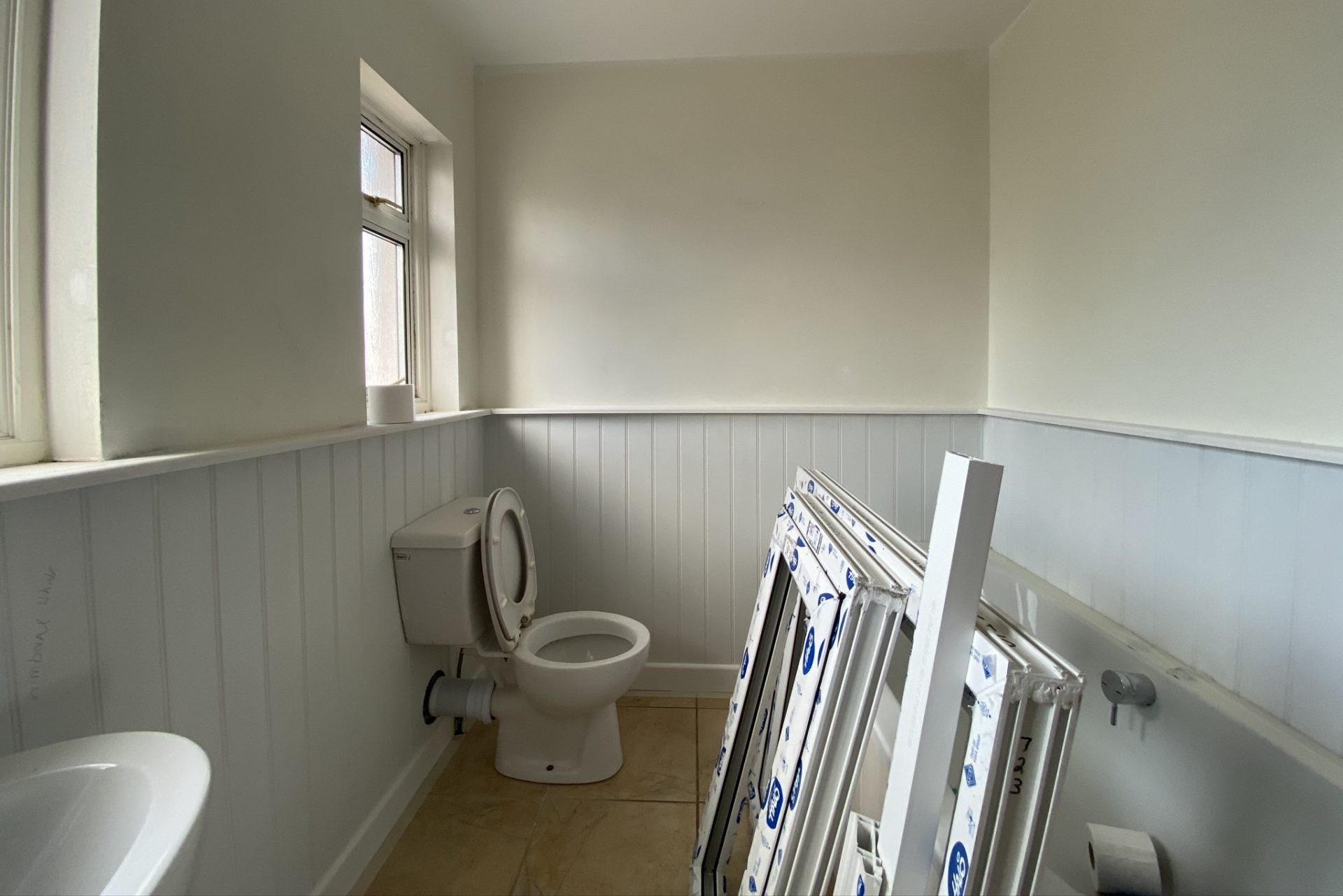 Hortons Bathroom Before decoration