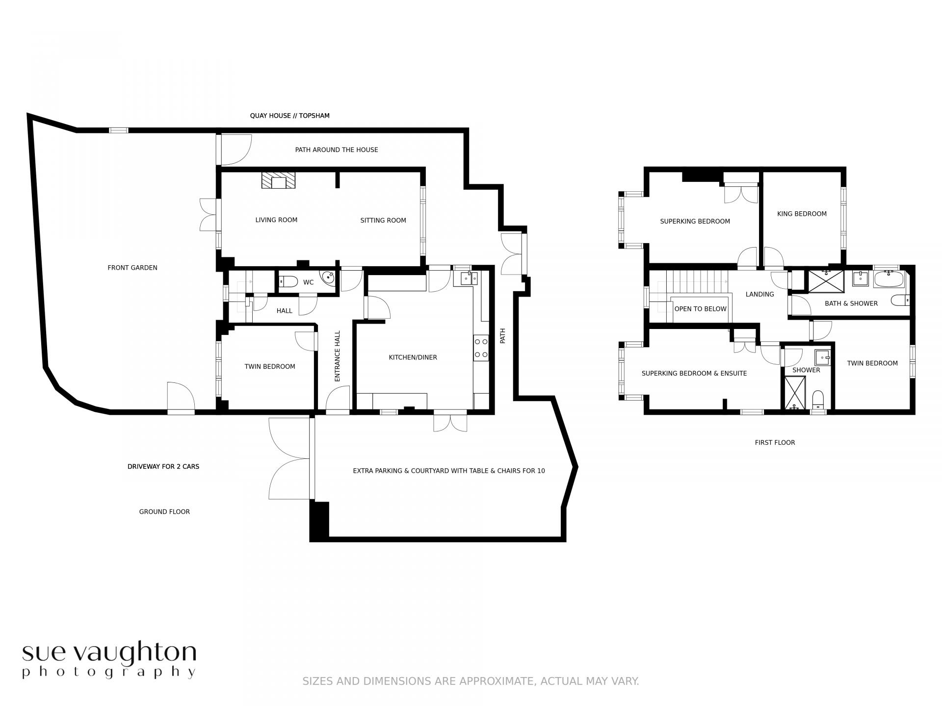 2D Property Floor Plans