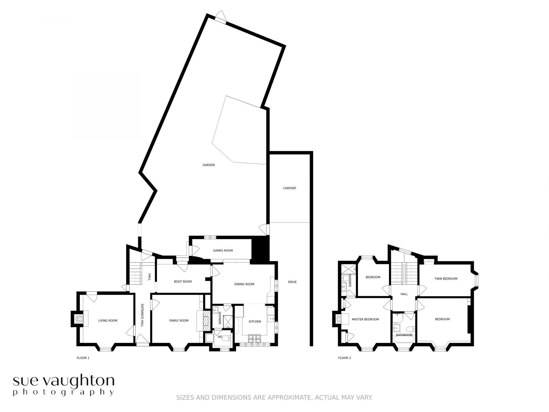 St Maur Cottage floor plan