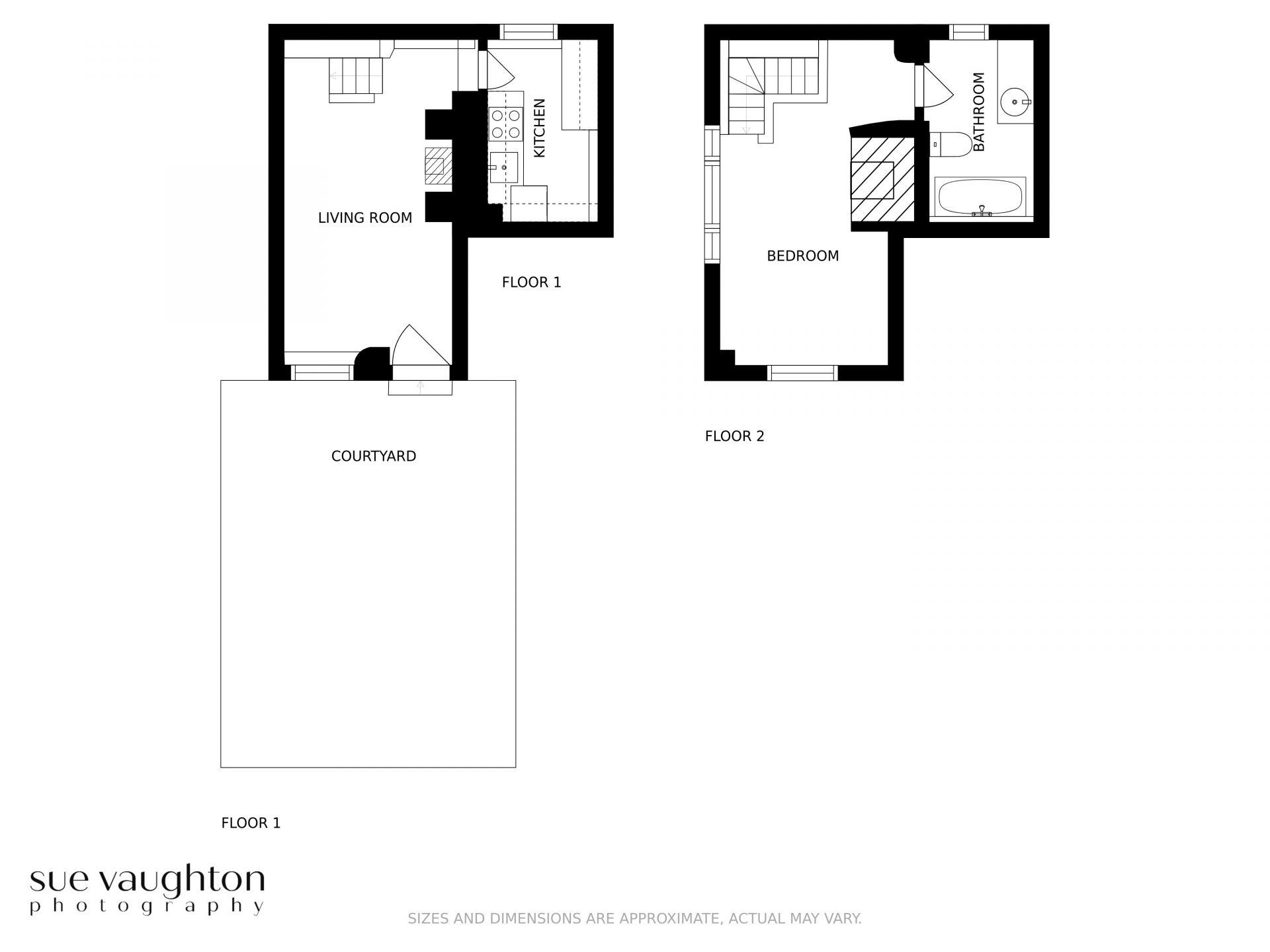 Pearse's Cottage Floor Plan